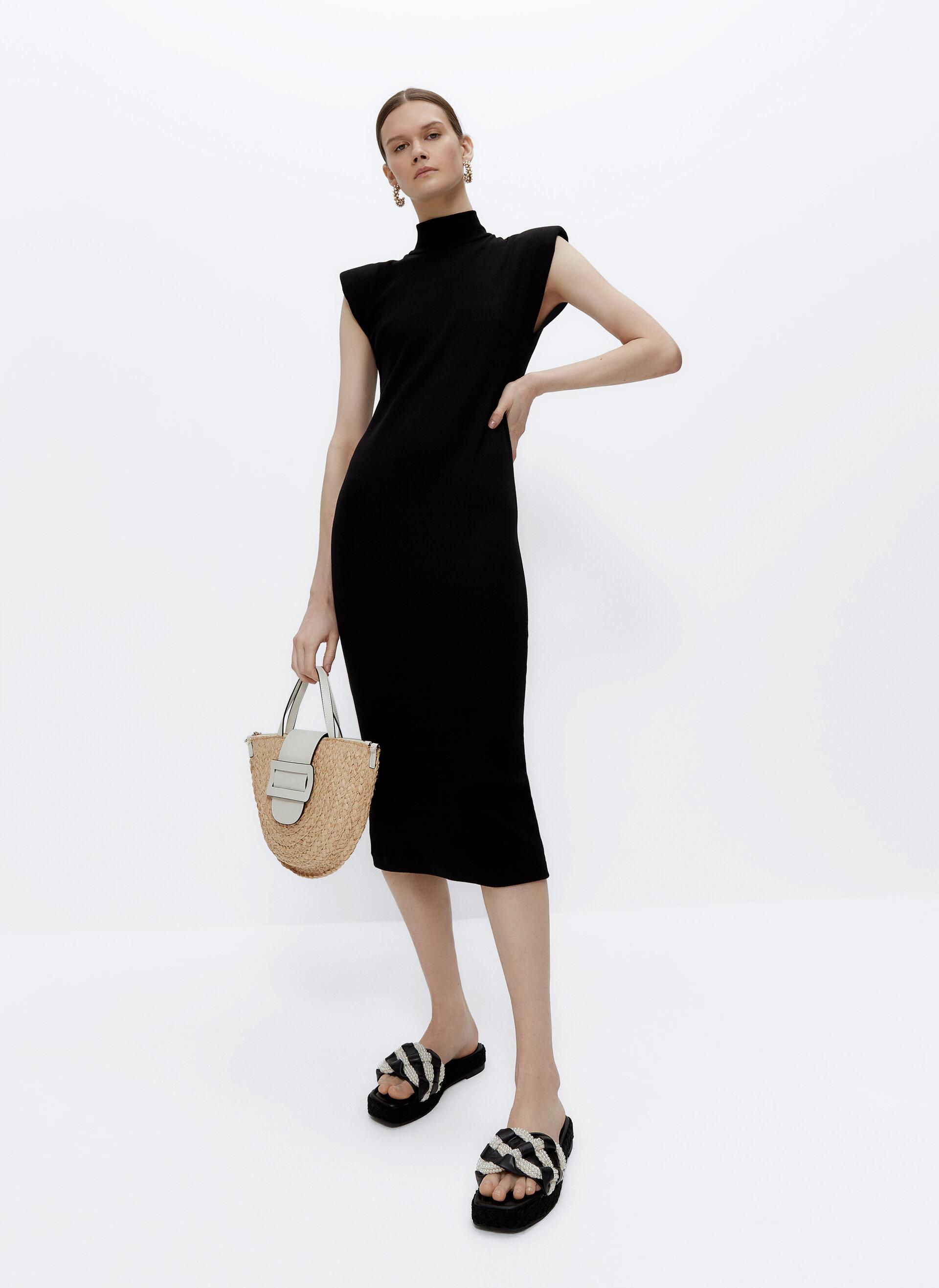 μαύρο φόρεμα Uterque
