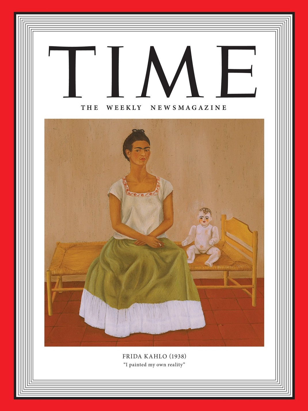 Η Φρίντα Κάλο στο εξώφυλλο του TIME
