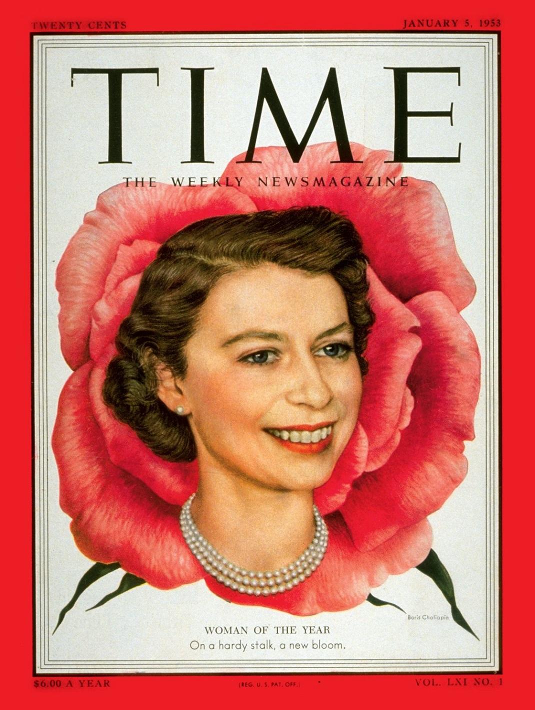 Η βασίλισσα Ελισάβετ στο εξώφυλλο του TIME