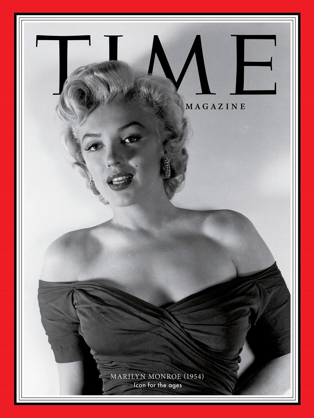 Η Μέριλιν Μονρόε στο εξώφυλλο του TIME