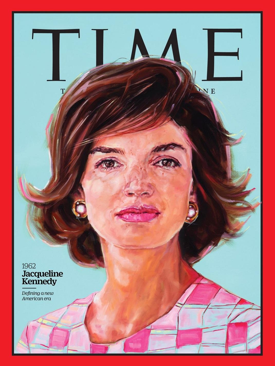 Η Τζάκι Κένεντι στο εξώφυλλο του TIME
