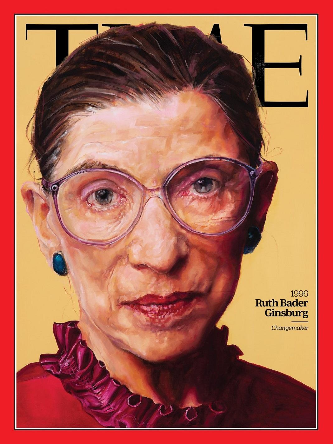 Η Ruth Bader Ginsburg στο εξώφυλλο του TIME