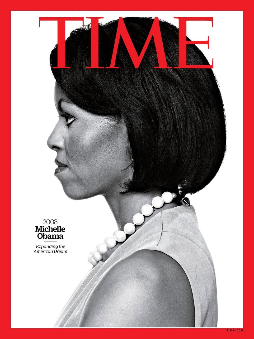 Η Μισέλ Ομπάμα στο εξώφυλλο του TIME