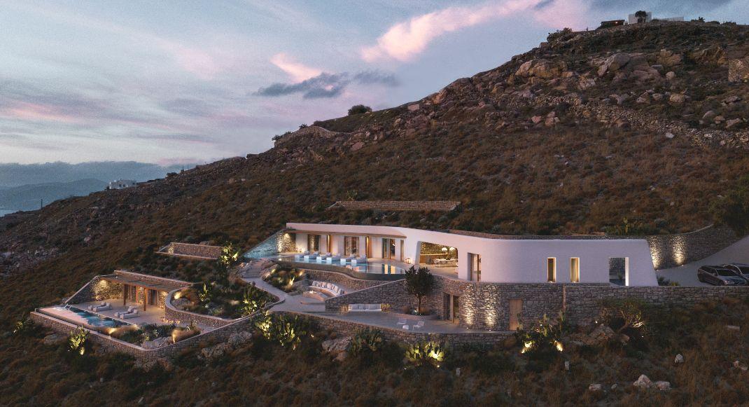 Η White Rock Villa στη Μύκονο