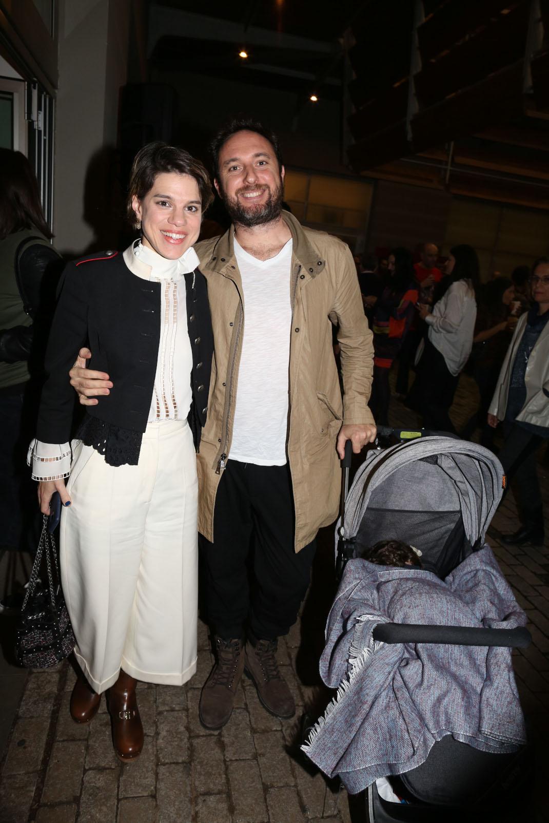 Η Μόνικα με τον σύζυγό της