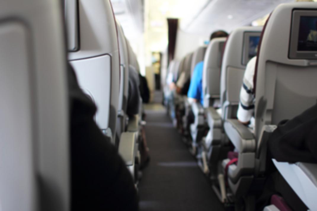 Το εσωτερικό ενός αεροπλάνου