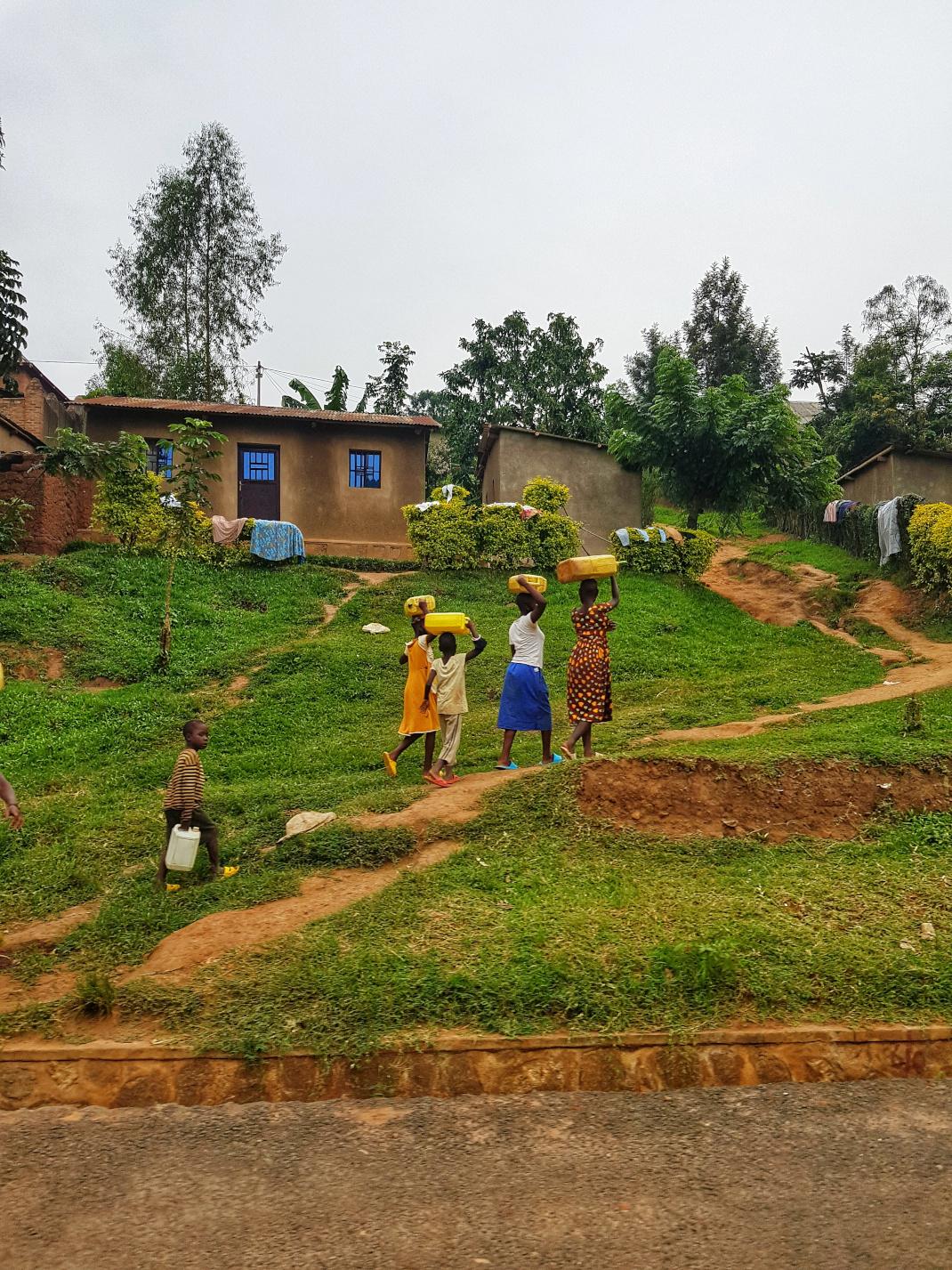 Τα σπίτια στη Ρουάντα