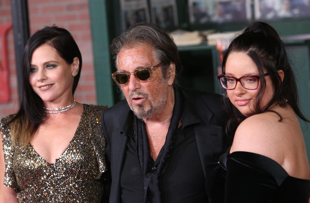 O Αλ Πατσίνο με την σύντροφό του και την 18χρονη κόρη του Ολίβια
