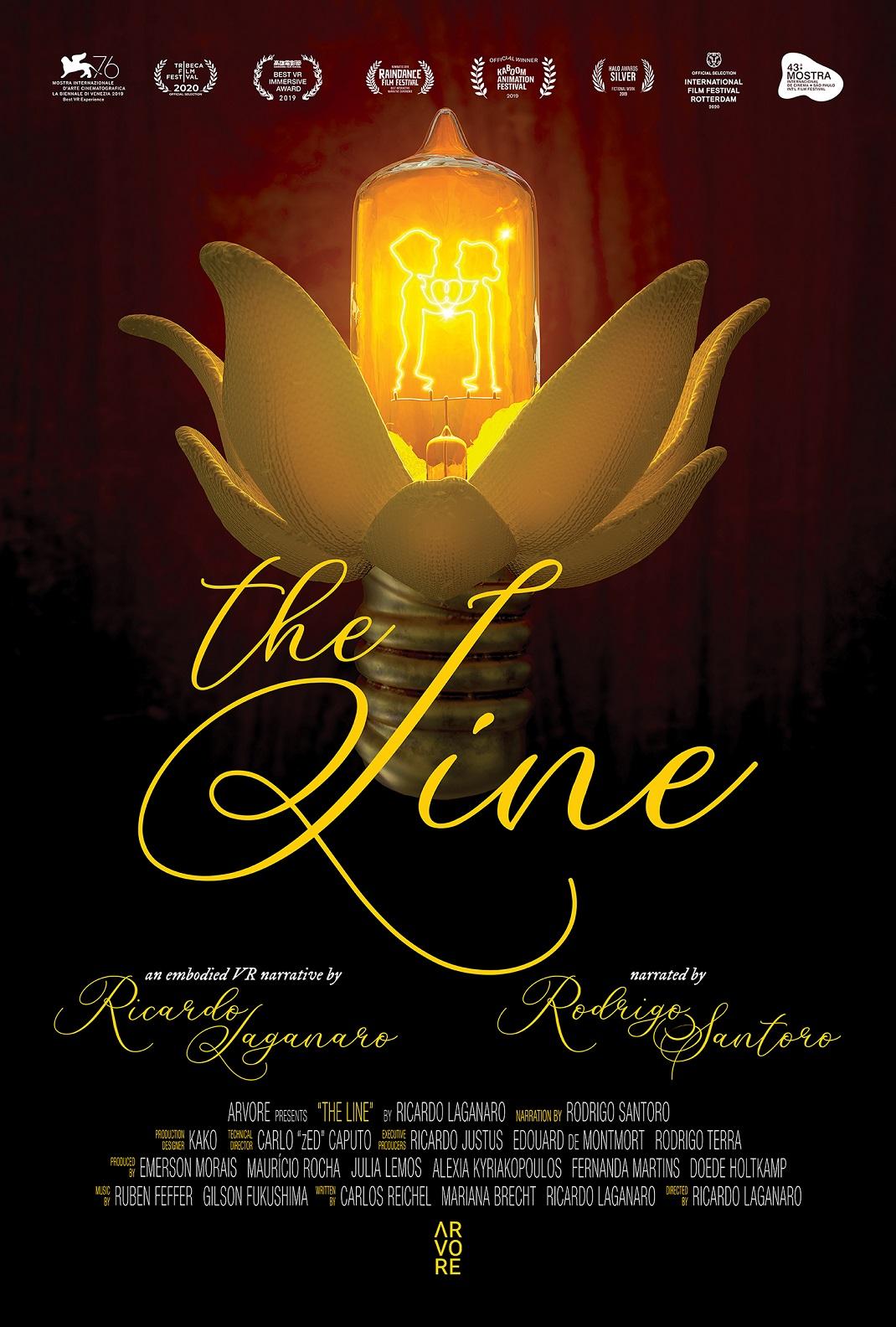 αφίσα της ταινίας the line