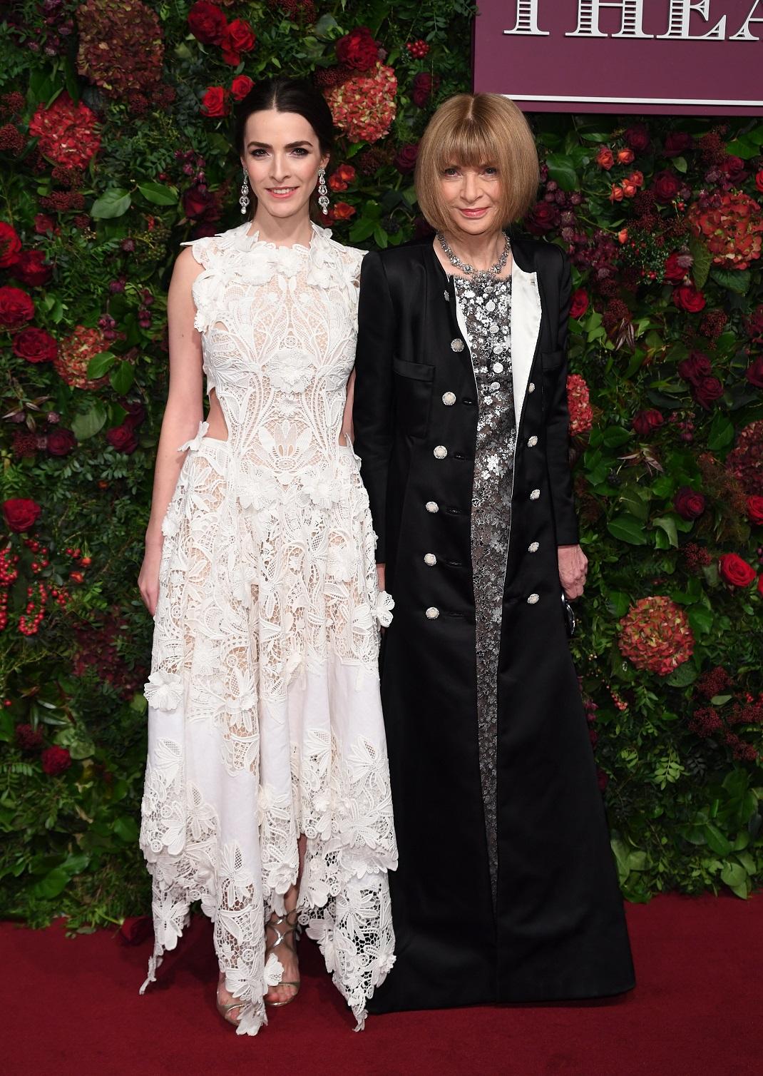 Η Άννα Γουίντουρ με την κόρη της Μπι Σάφερ