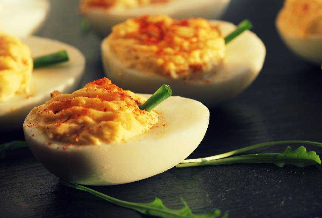 Γεμιστά αυγά Μιμόζα