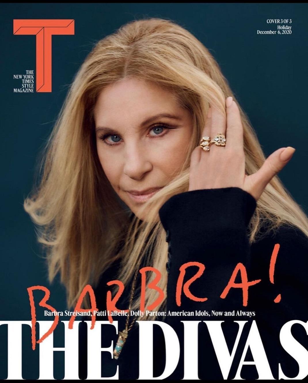 Η Μπάρμπρα Στρέιζαντ για το T magazine