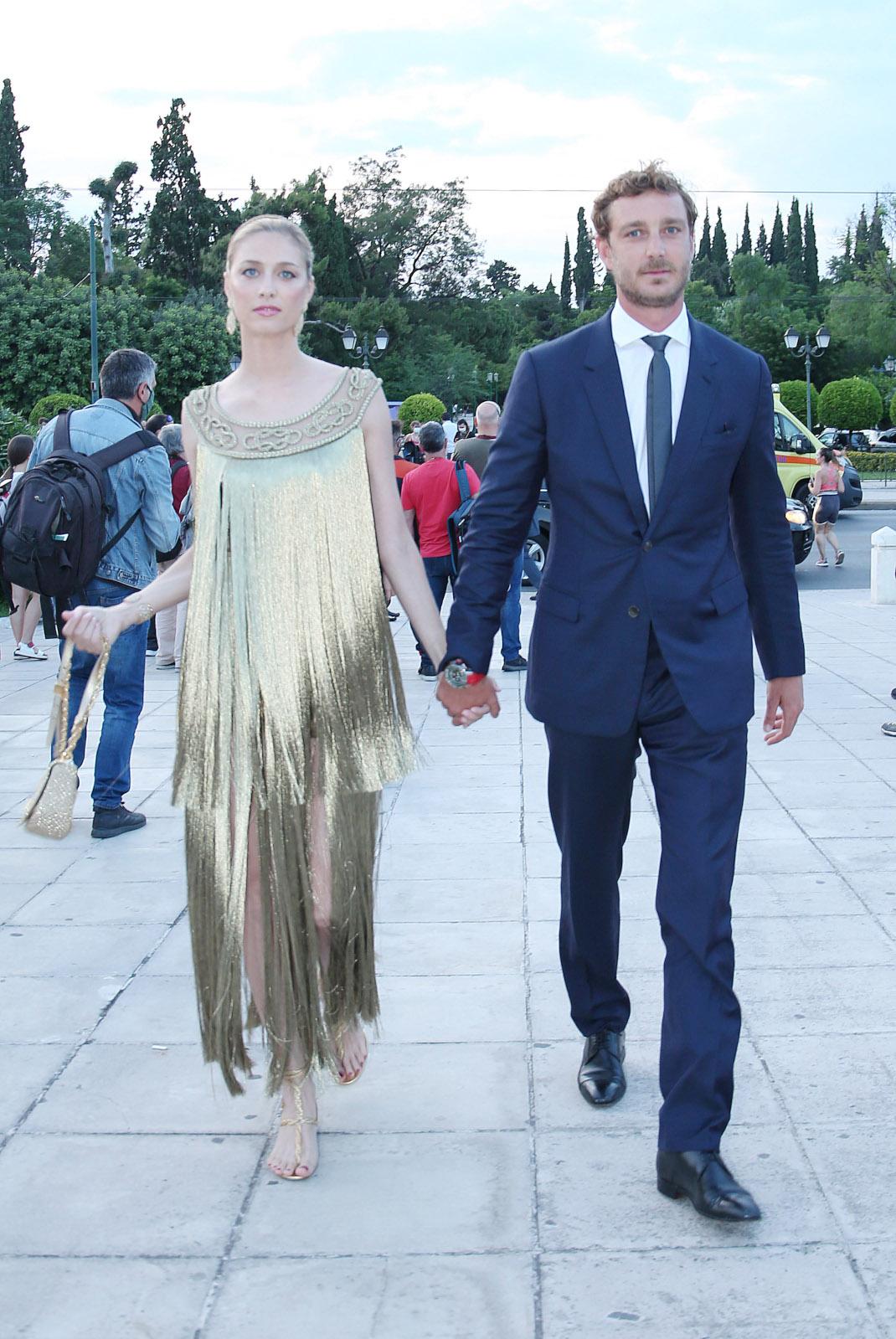 Πιέρ Κασιράγκι και η σύζυγός του, Μπεατρίς Μπορομέο