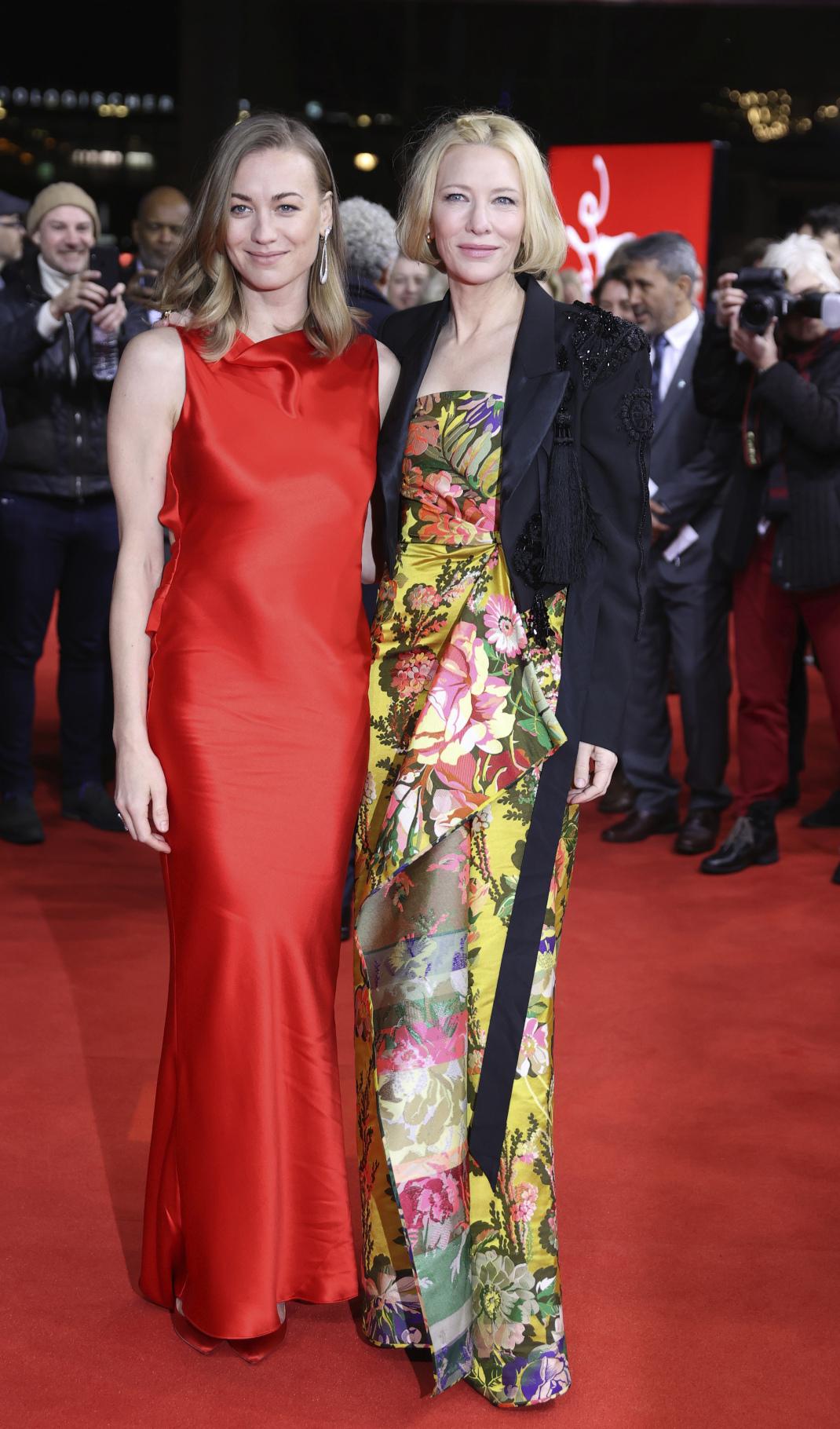 Η εντυπωσιακή εμφάνιση της Κέιτ Μπλάνσετ στο κόκκινο χαλί