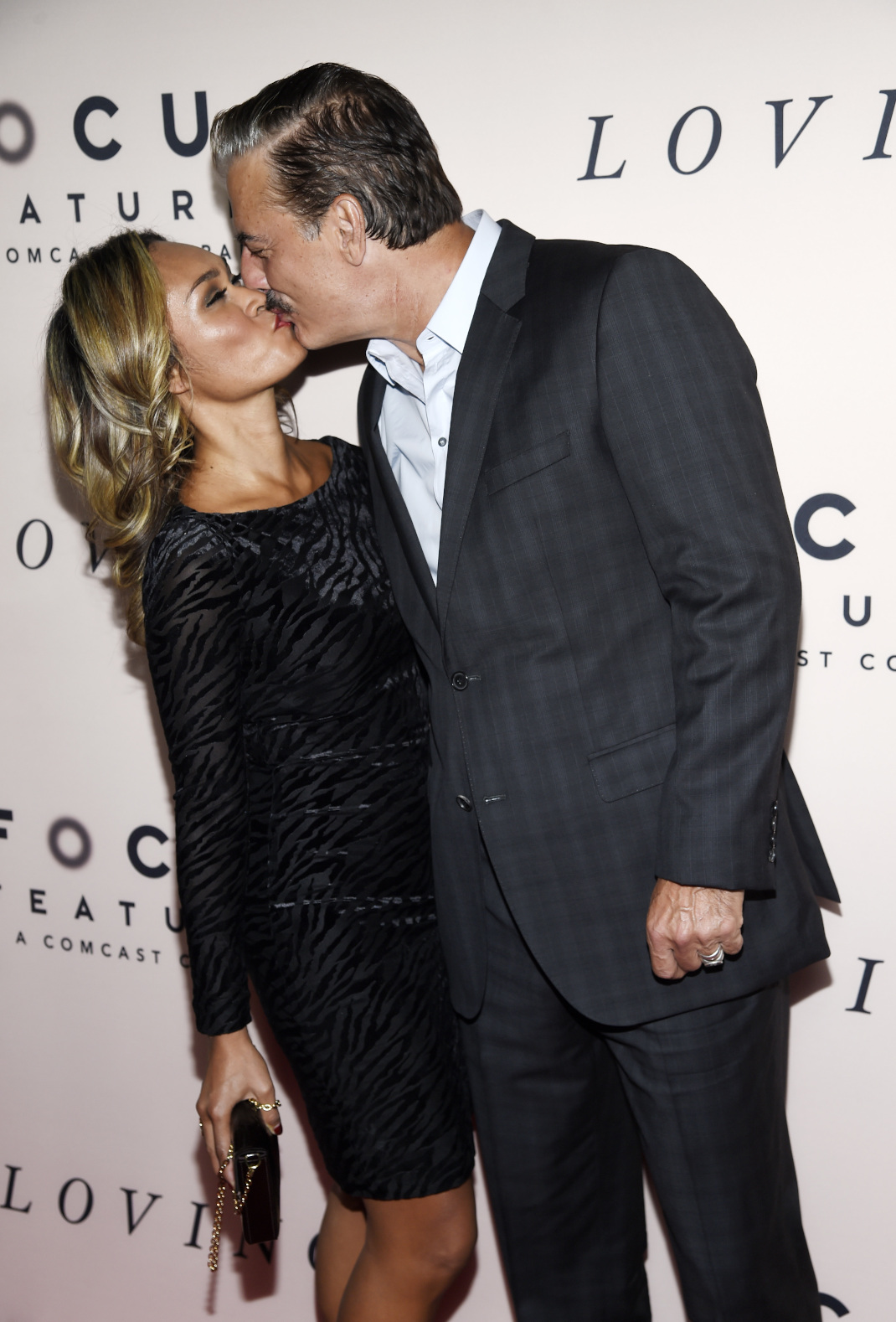 O Κρις Νόρθ με την σύζυγό του Τάρα Γουίλσον