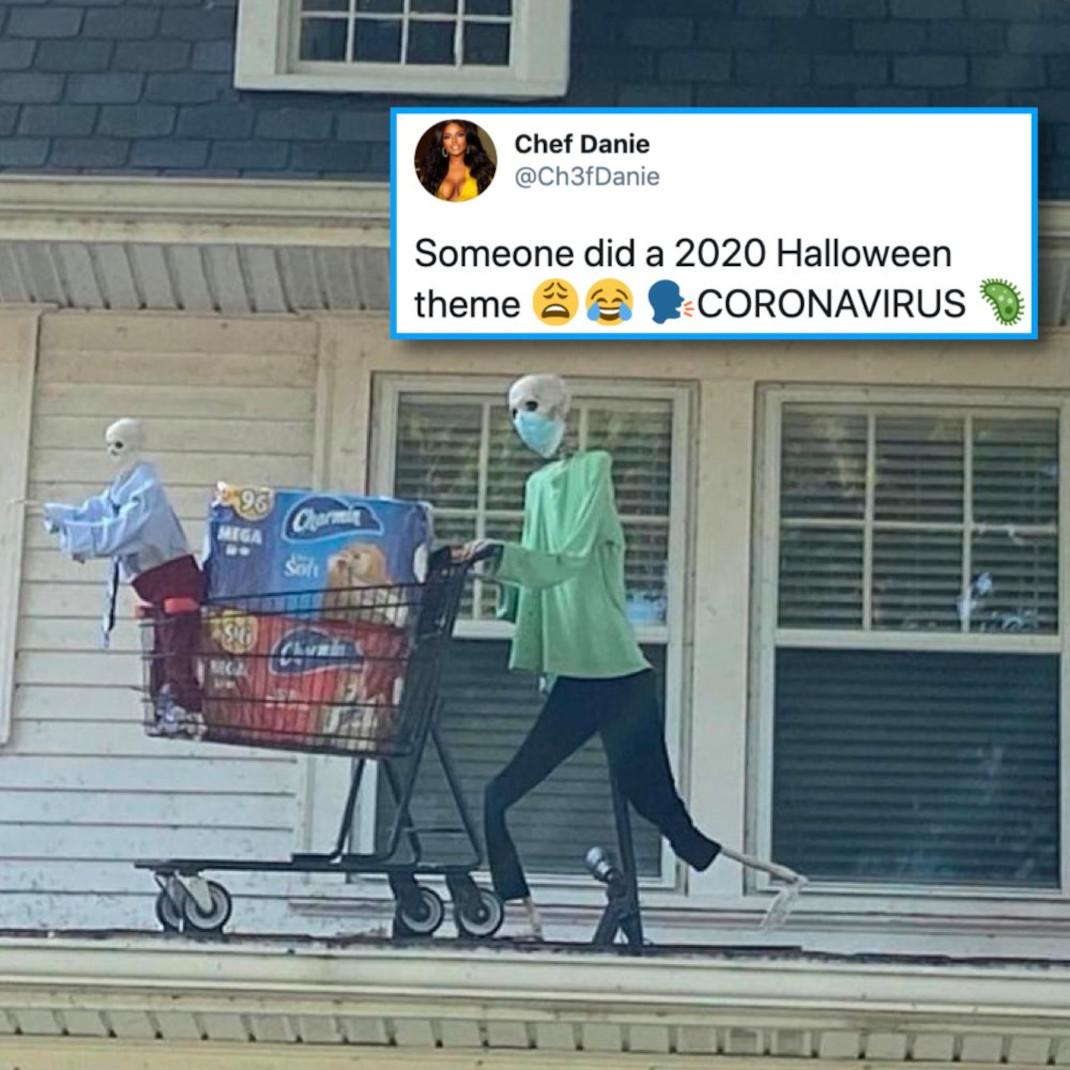halloweeen κορωνοϊός