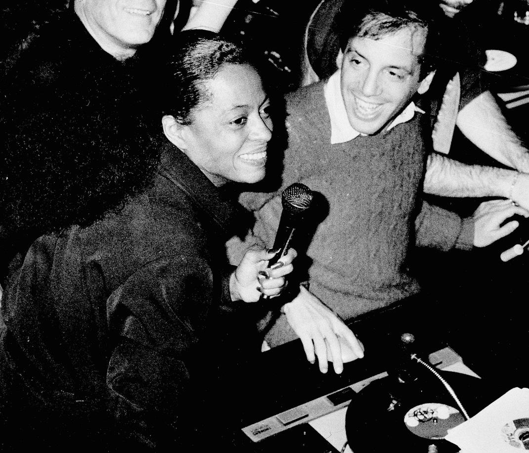Η Νταϊάνα Ρος στο Studio 54