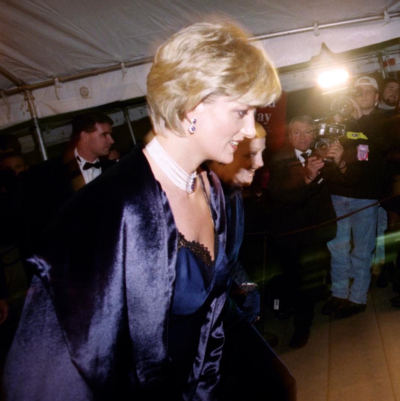 Η Νταϊάνα στο Met Gala