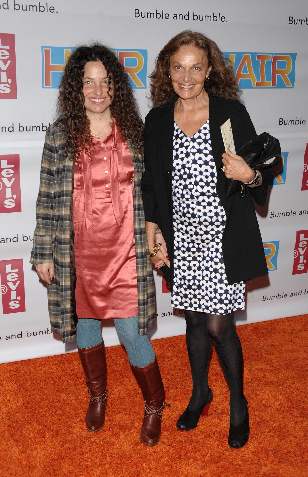 H Diane von Furstenberg με την κόρη της Tatiana