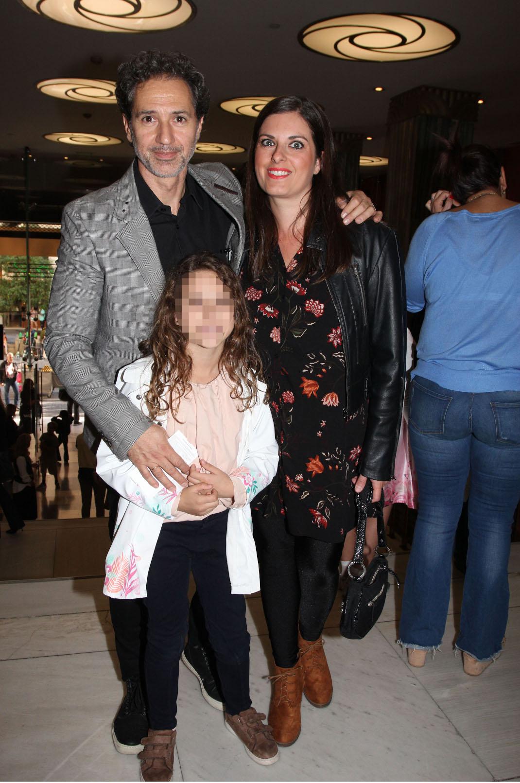 Δημήτρης & Κατερίνα Κόκοτα με την κόρη τους