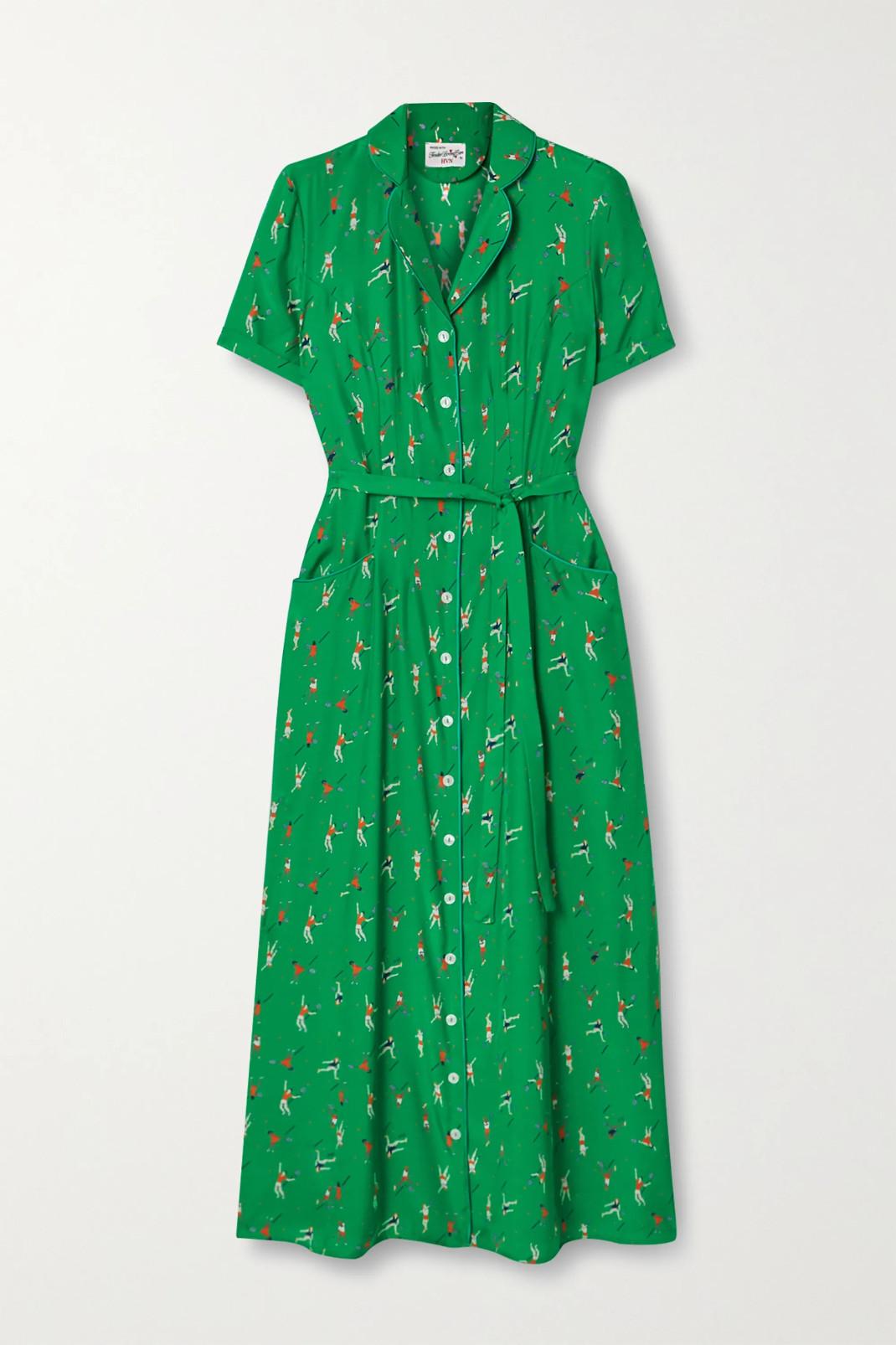πράσινο tennis dress