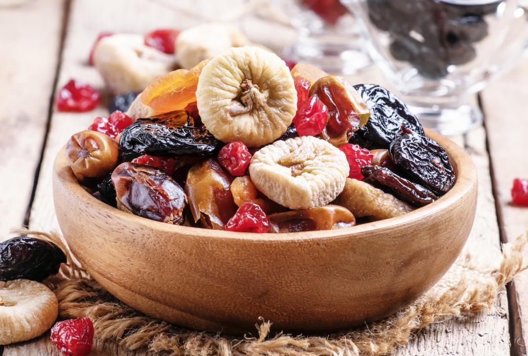 Αποξηραμένα φρούτα και θερμίδες