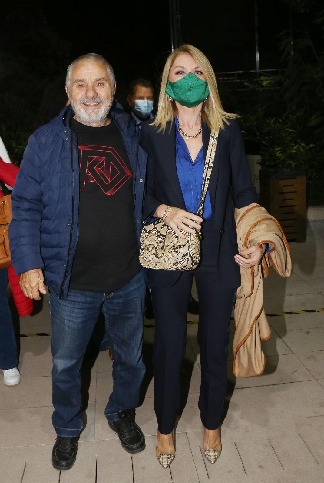 Η Έλλη Στάη με κοστούμι στο Θέατρο Άλσος