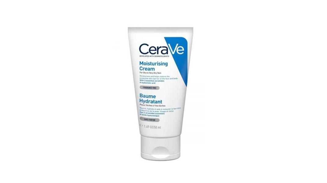 CeraVe Ενυδατική Κρέμα Προσώπου/Σώματος Για Ξηρό/Πολύ Ξηρό Δέρμα