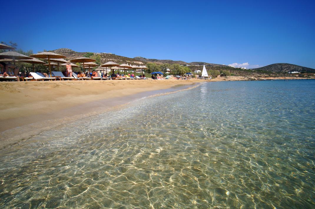 Φάραγκας παραλία Πάρος