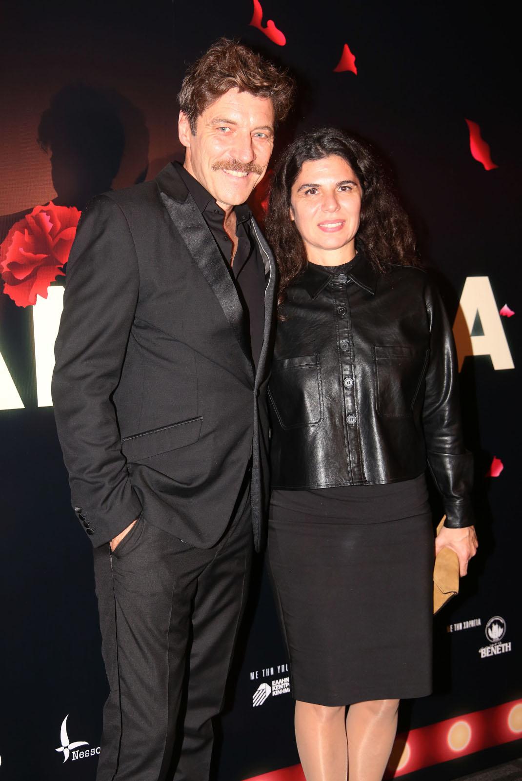 Ο Γιάννης Στάνκογλου με την σύζυγό του