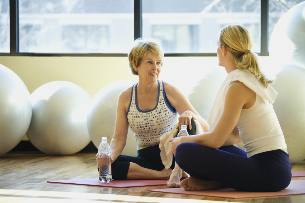 Γυμναστική μετά τα 50