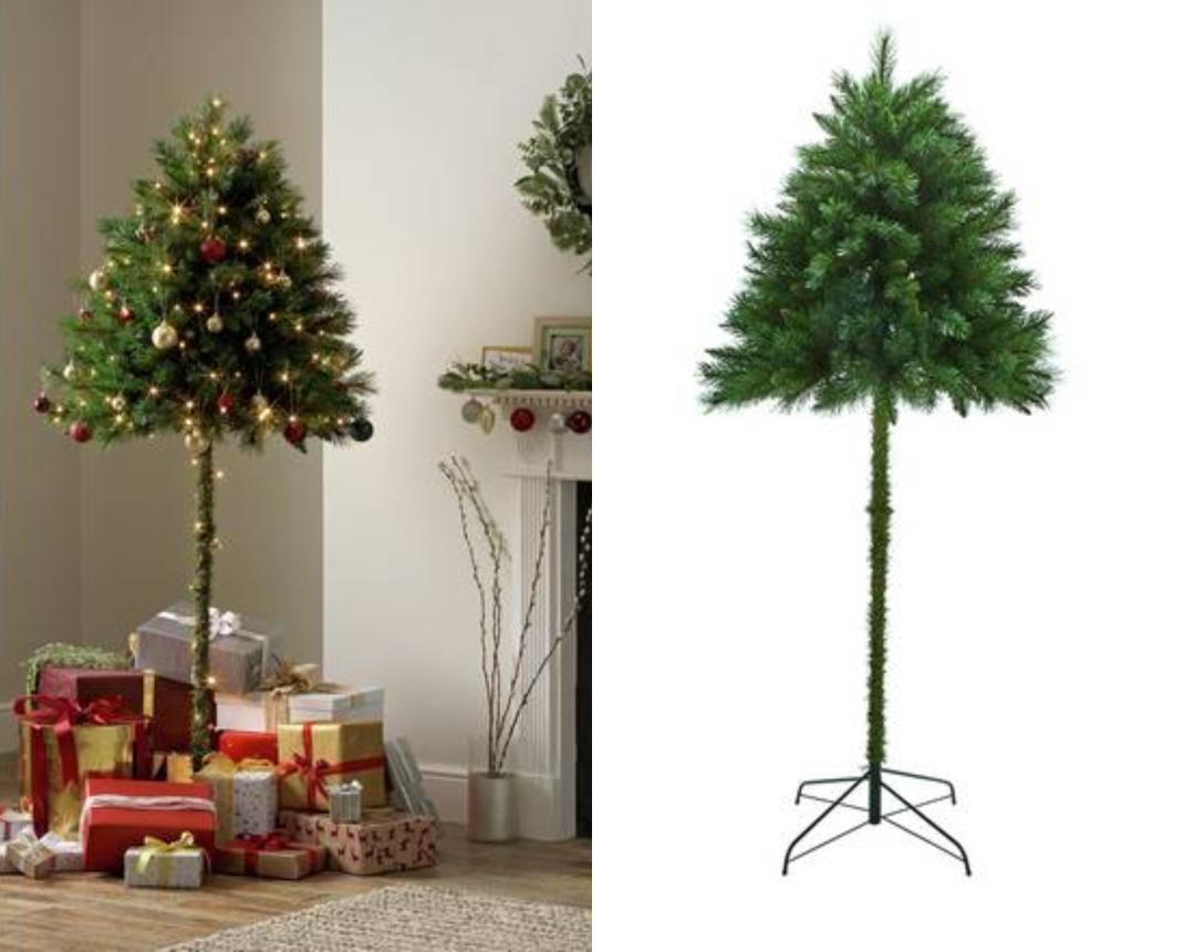 Το μισό χριστουγεννιάτικο δέντρο