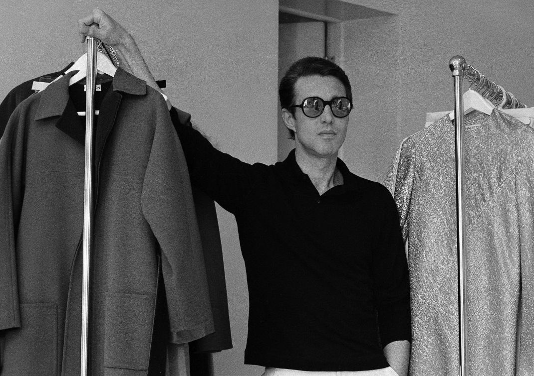 O Roy Halston το 1975 στη Νέα Υόρκη