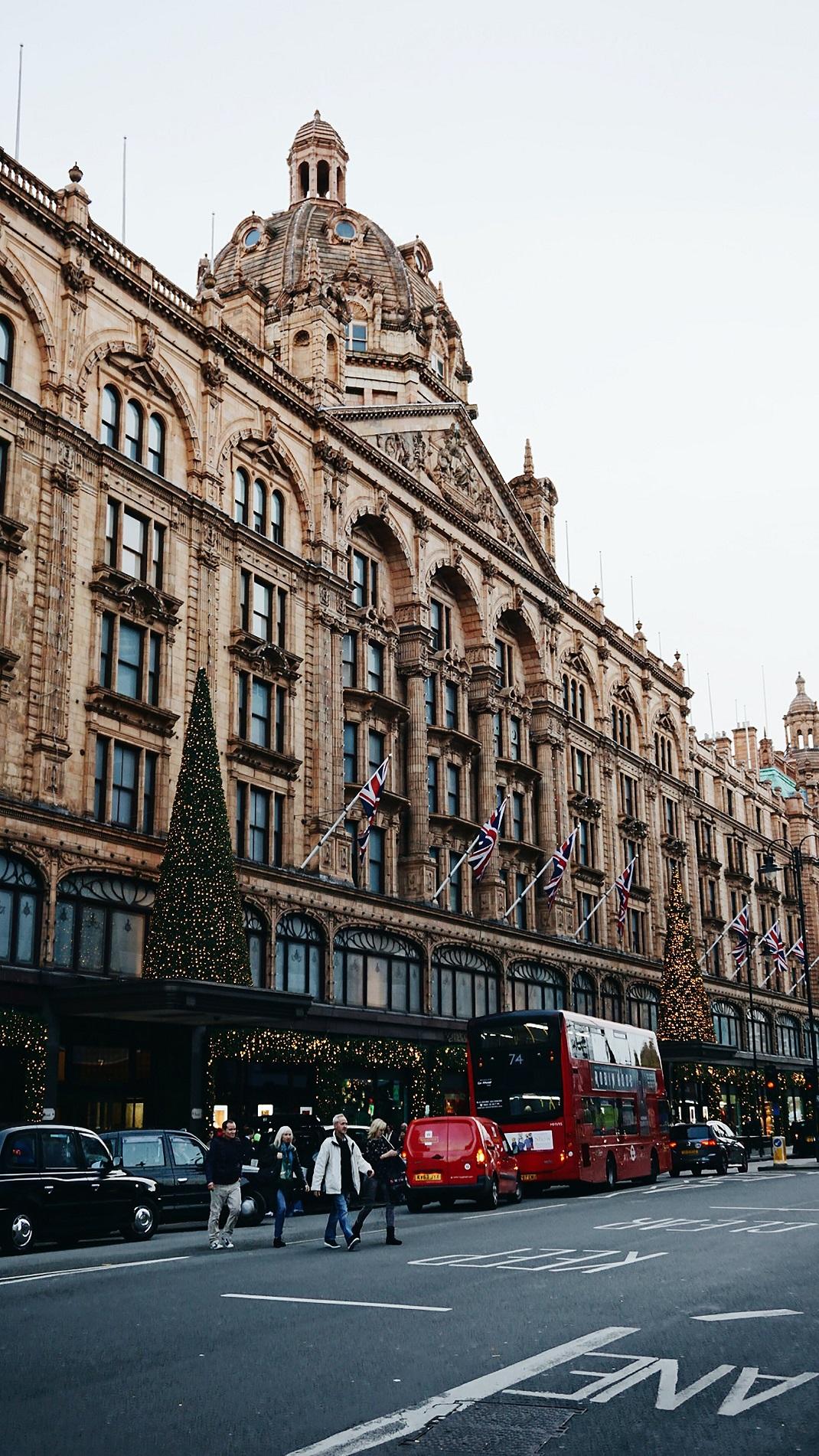 Harrods Λονδίνο Χριστούγεννα