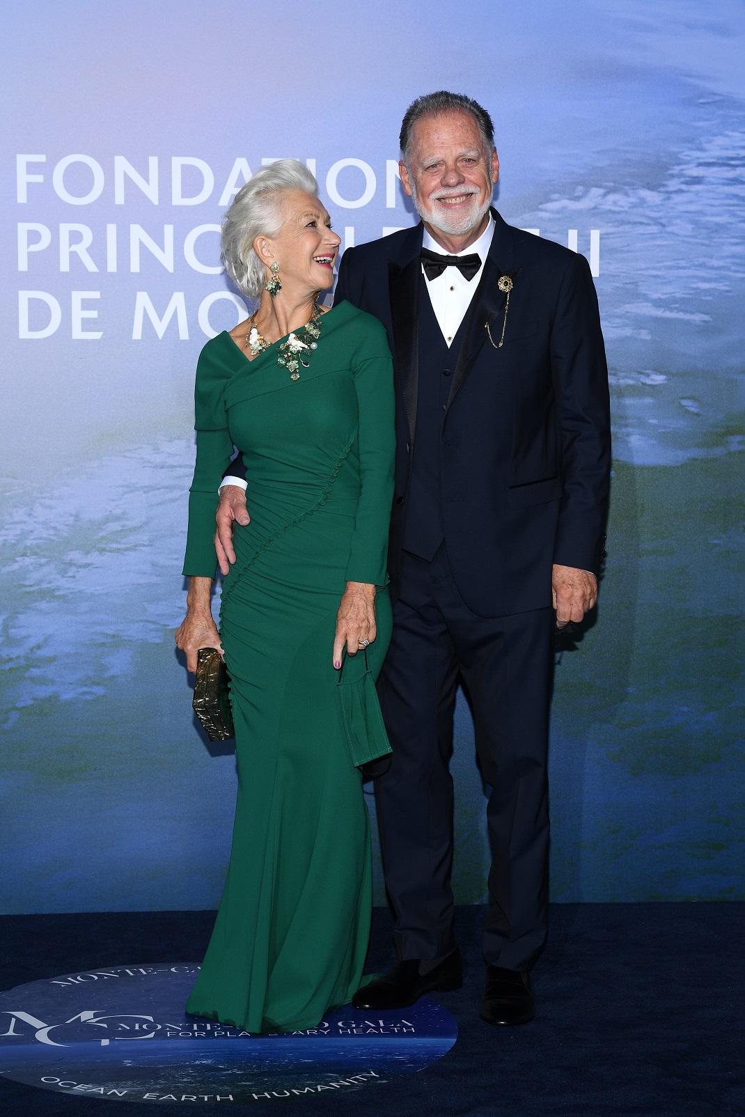 Η Έλεν Μίρεν με τον σύζυγό της