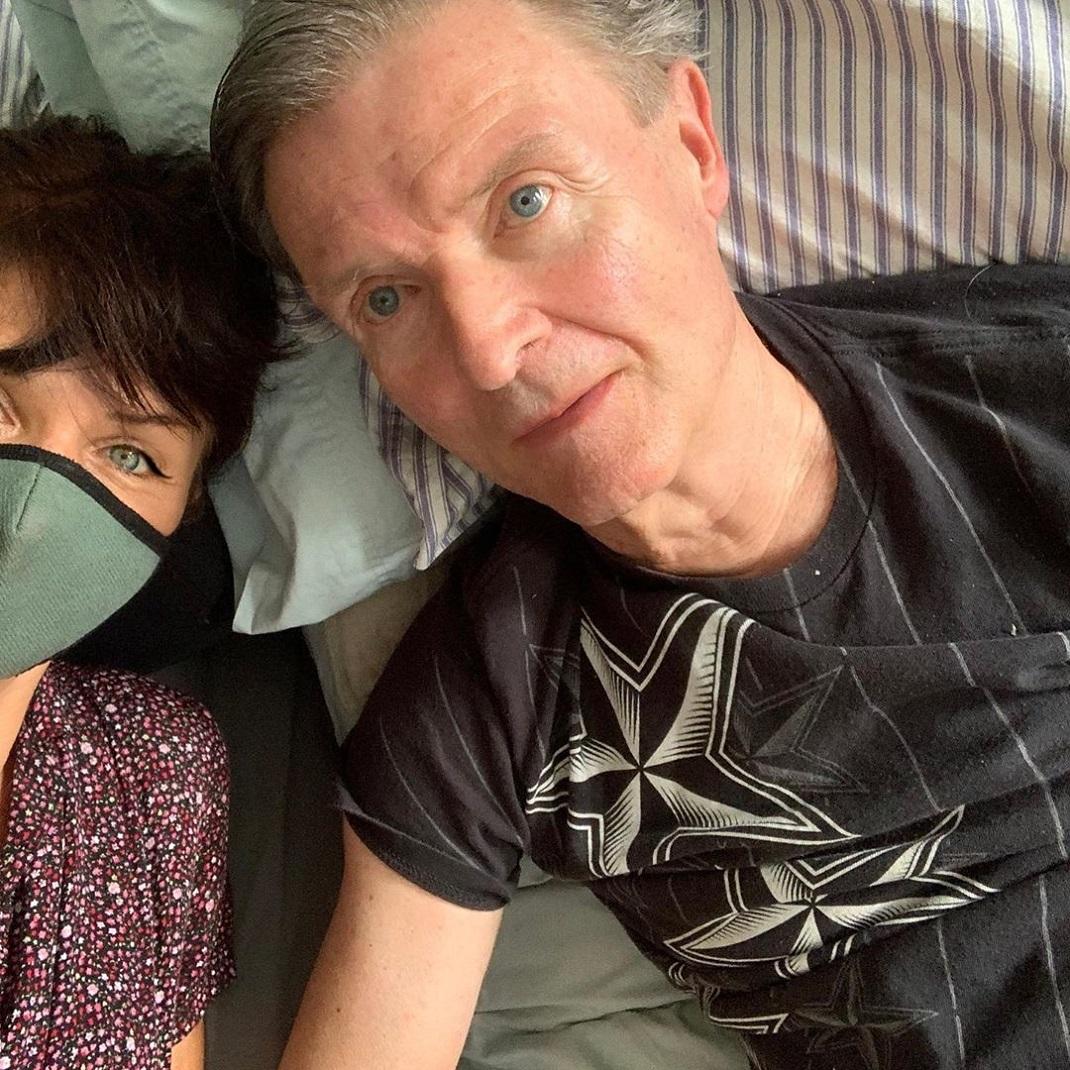 Η Έλενα Κρίστενσεν με τον πατέρα της