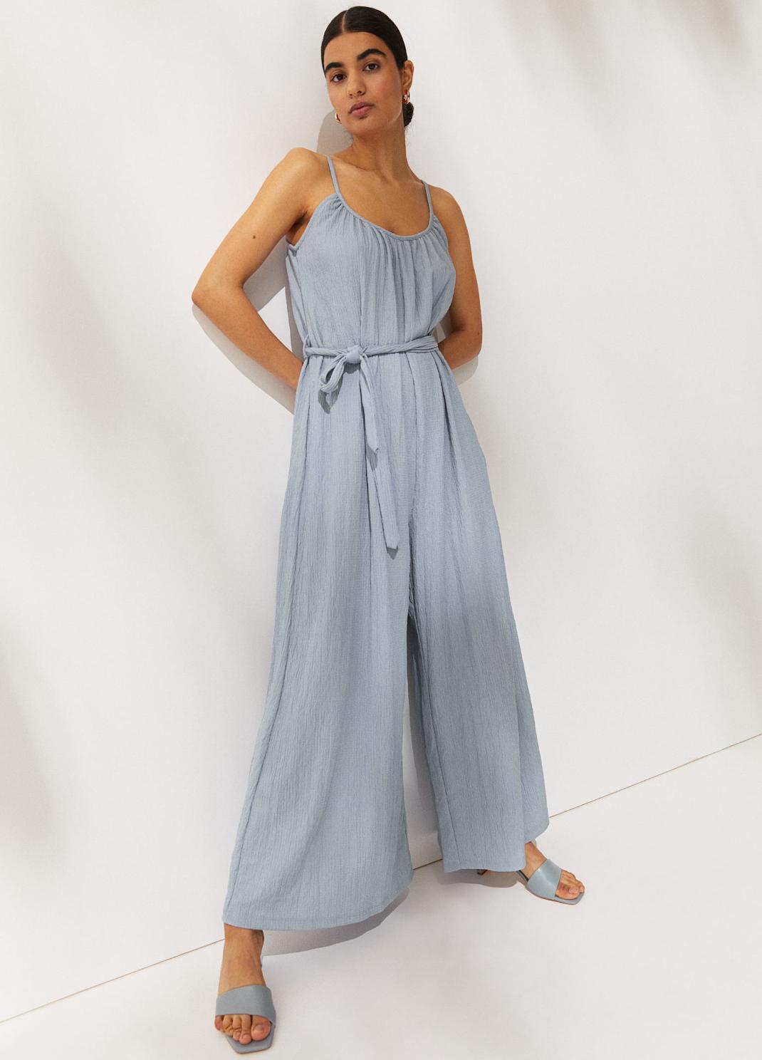 ολόσωμη γαλάζια φόρμα H&M