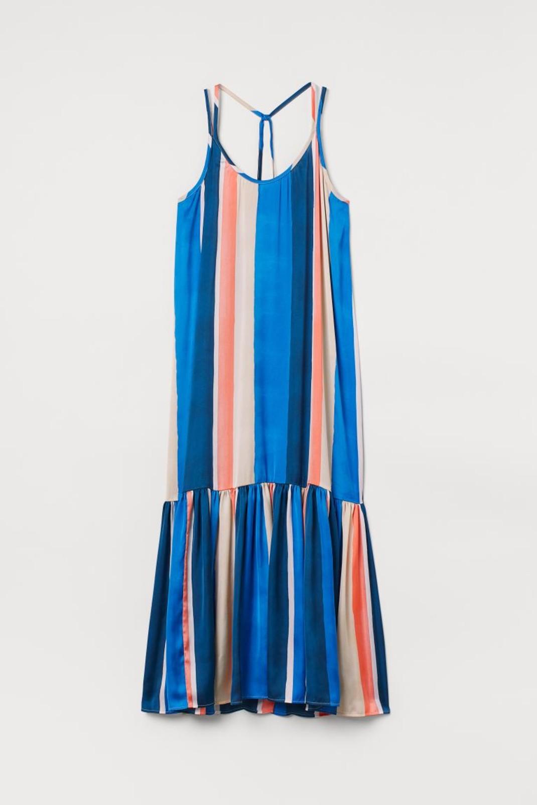 Ριγέ φόρεμα H&M