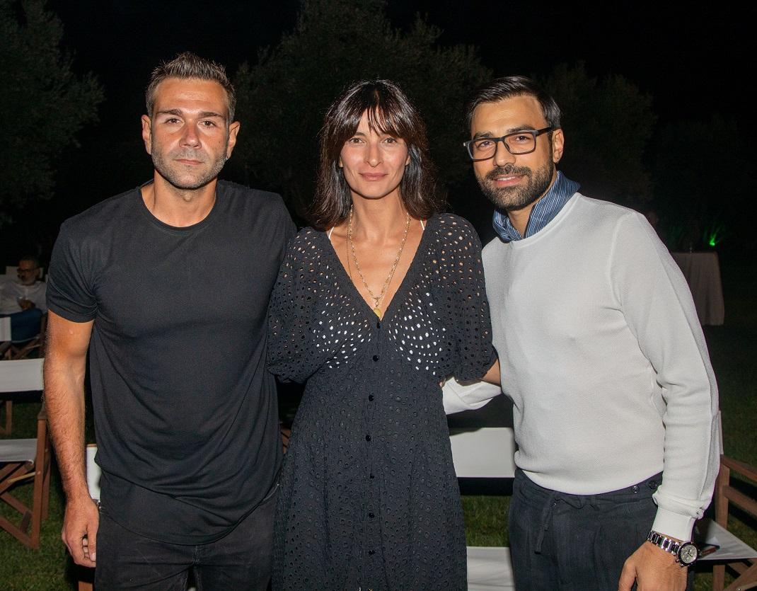 Ο Τάσος Ιορδανίδης, η Αντιγόνη Κουλουκάκου και ο Ανδρέας Γεωργίου