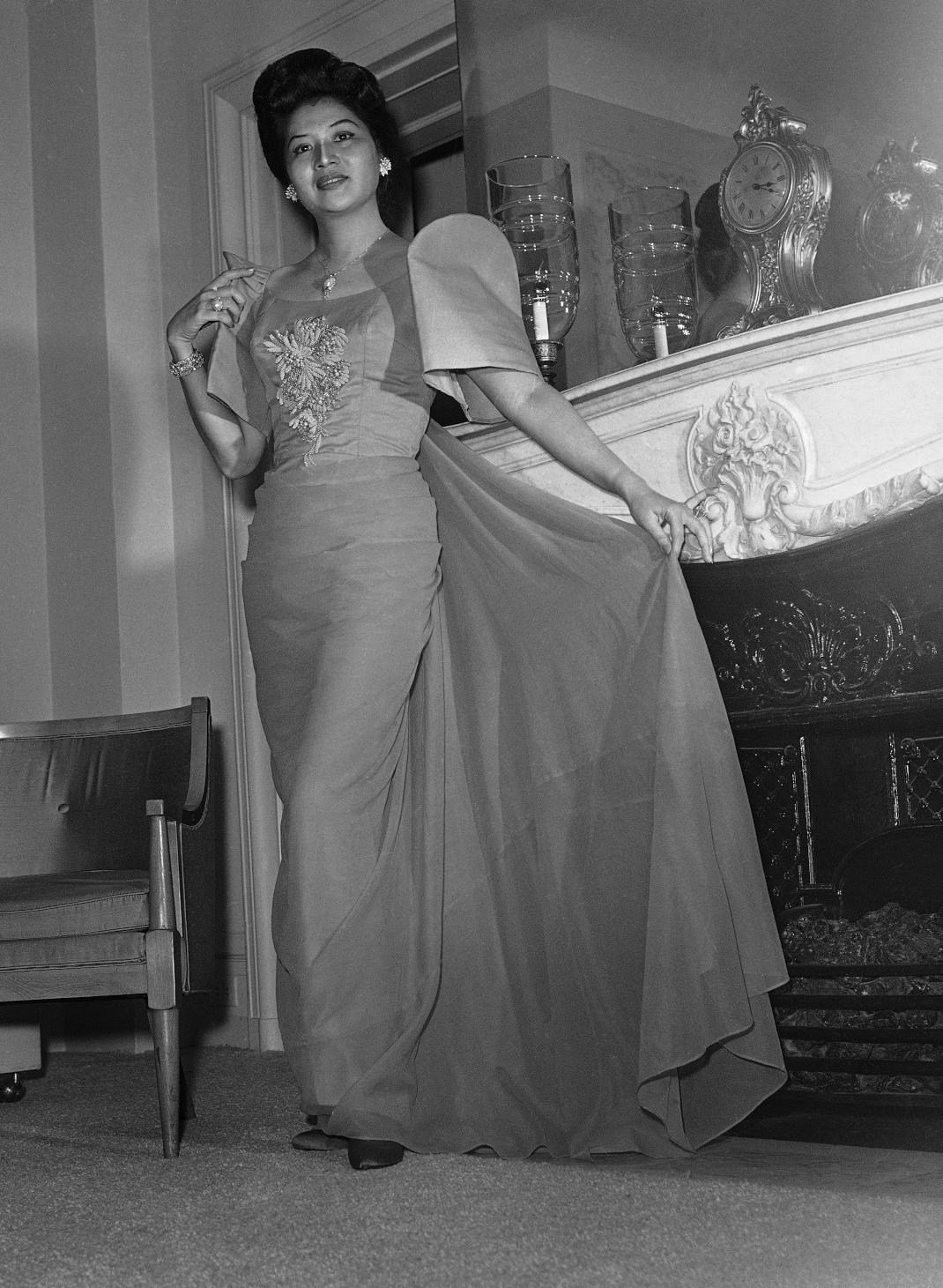 Η Ιμέλντα Μάρκος ως μοντέλο