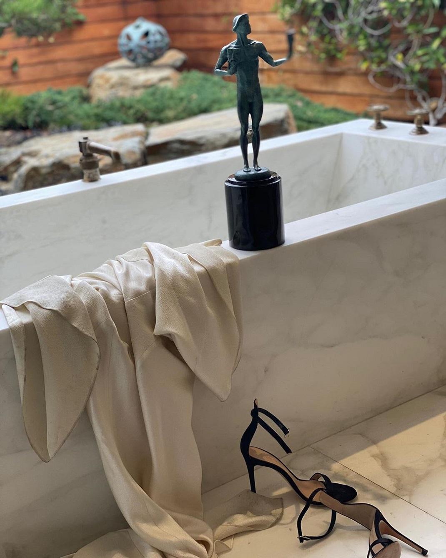 Το μπάνιο της Τζένιφερ Άνιστον του σπιτιού της στο Μπελ Ερ
