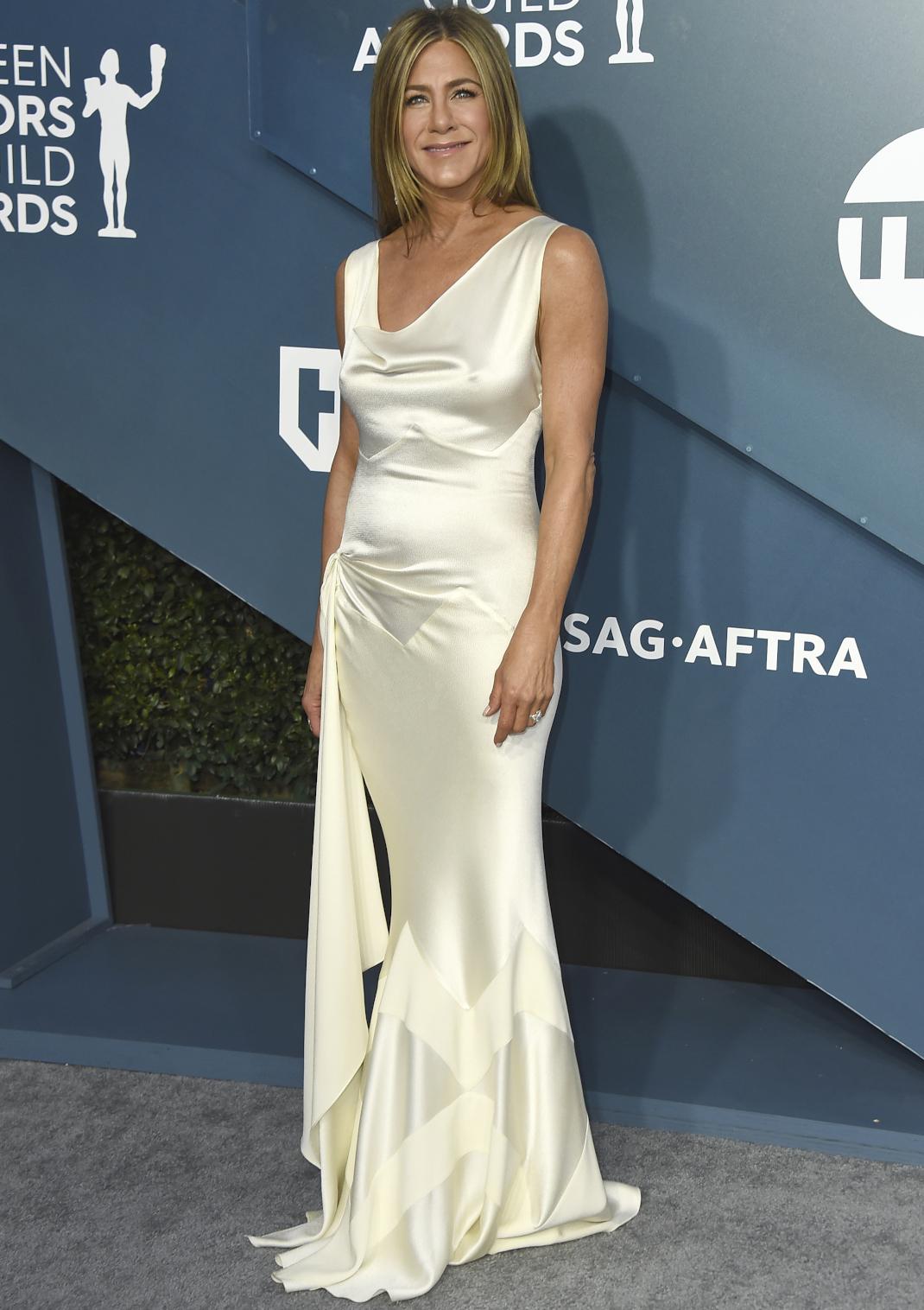 H Jennifer Aniston στο κόκκινο χαλί των SAG Awards