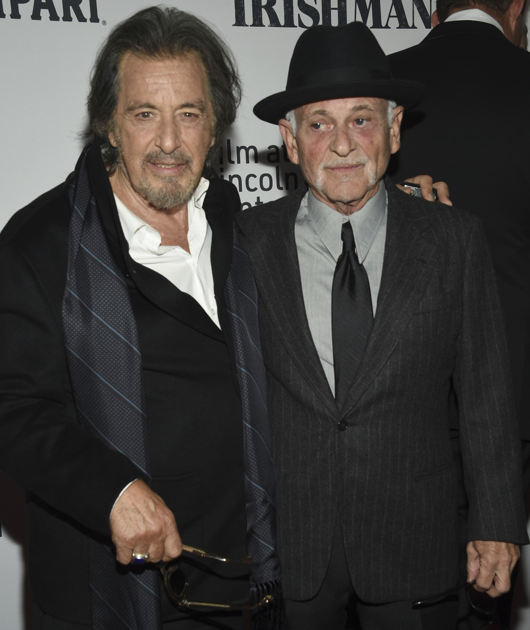 Al Pacino και Joe Pesci στην πρεμιέρα του The Irishman