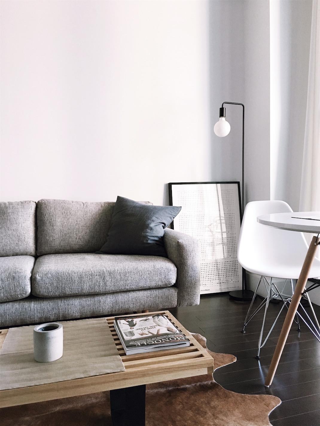 Γκρι καναπές