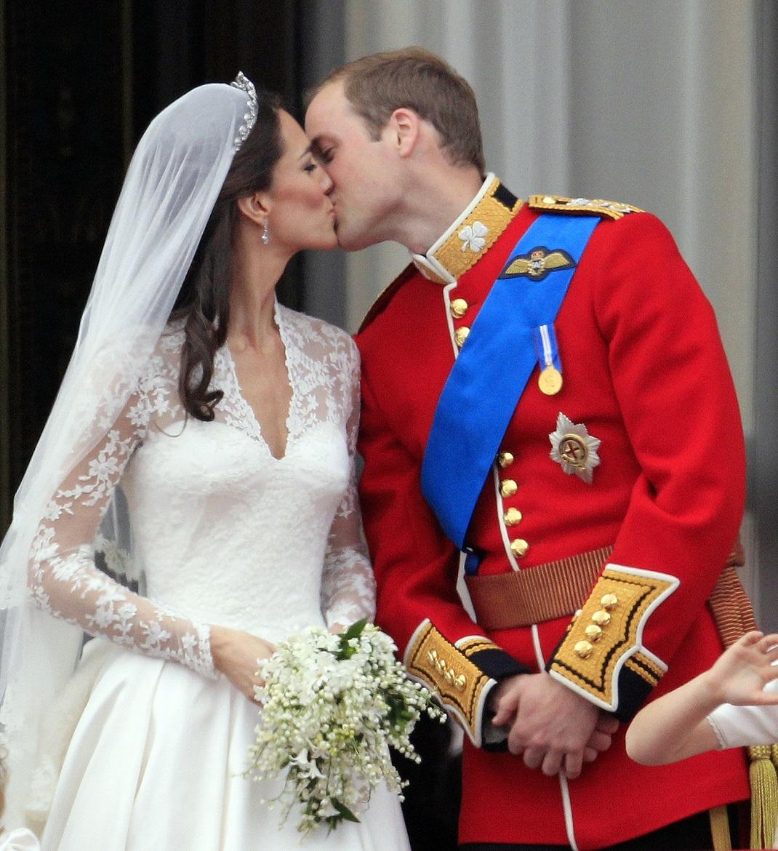 Η Κέιτ Μιντλετον και ο Πρίγκιπας Ουίλιαμ την ημέρα του γάμου τους