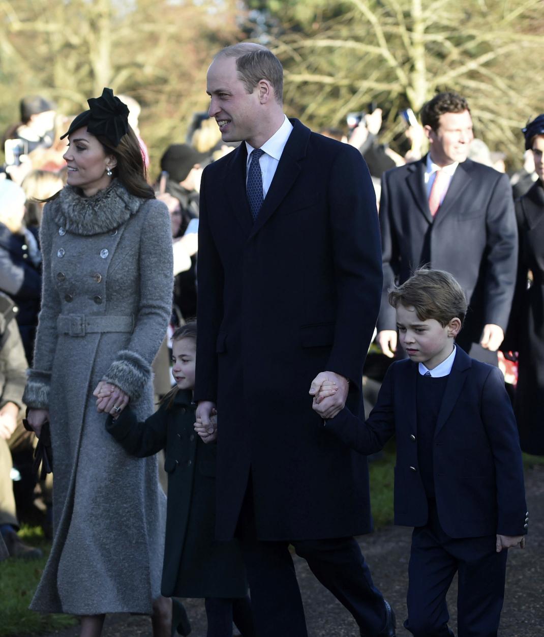 Κέιτ Μίντλετον, πρίγκιπας Γουίλιαμ και τα παιδιά τους