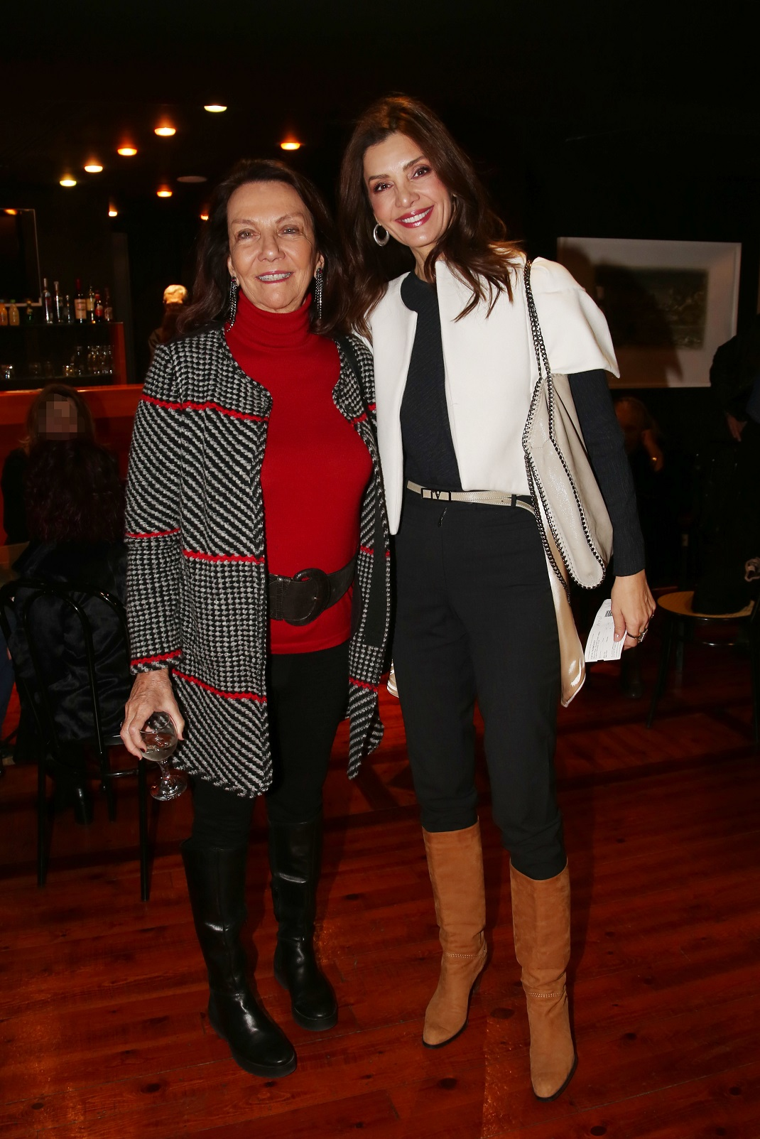 Η Κατερίνα Λέχου και η Μυριέλλα Παπαοικονόμου