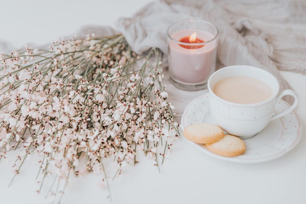 Κερί και καφές