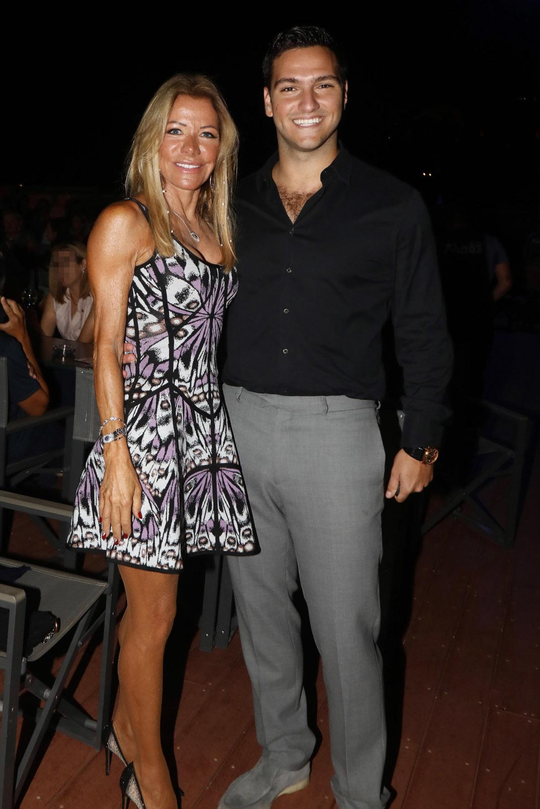 Μαριάννα Λάτση με τον γιο της, Φίλιππο Κούρκουλο