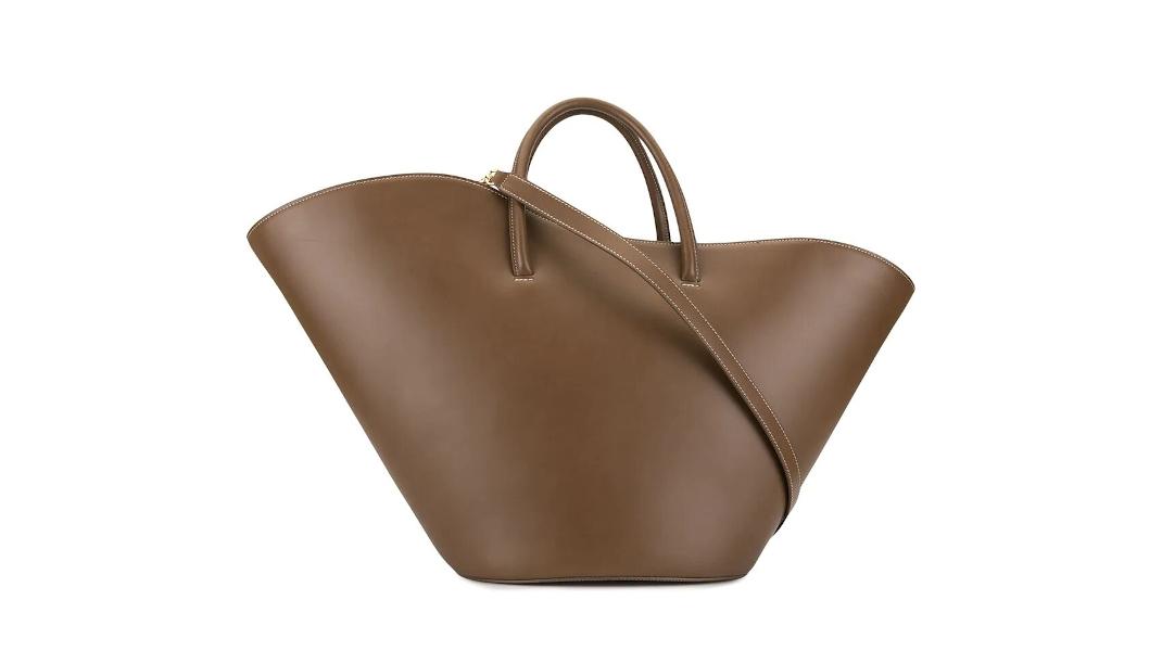 καφέ τσάντα Little Liffner
